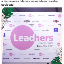 Marie Claire - Leadhers