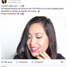 Nancy Estrada FB - CND Nightspell