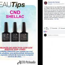 CND - Alto Peinado Top Coat